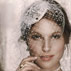 Brides Magazine: The Birdcage Veil