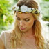 Wedding Magazine, Ivory, white and yellow flower halo and corsage �21.99